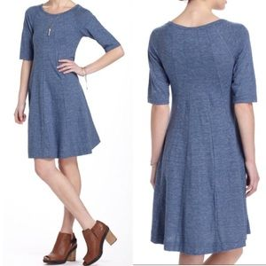 Anthropologie Gianni threaded trails swing dress